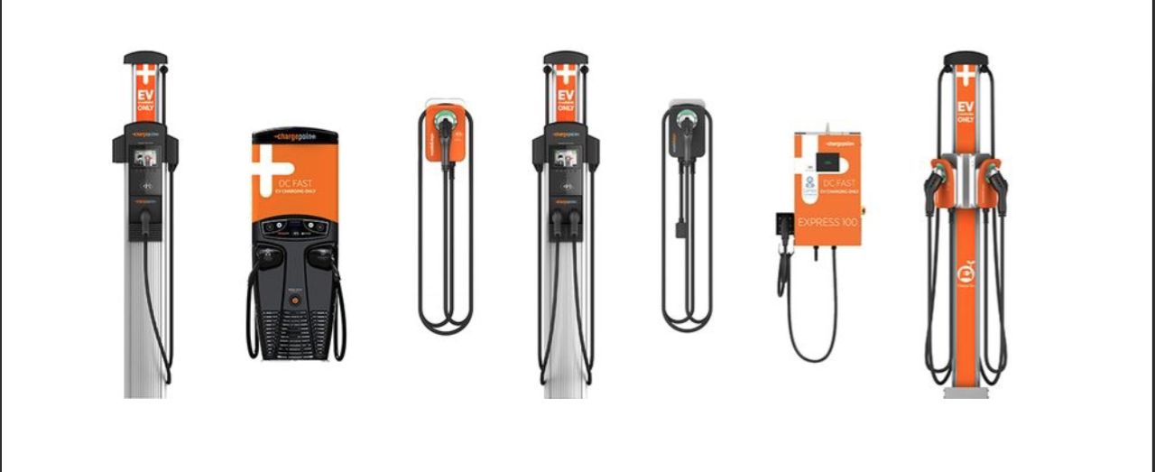 Limitless EV in Kelowna, BC - ChargePoint EV Charger Lineup